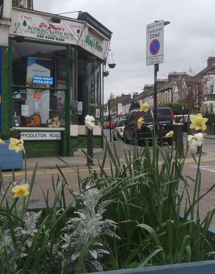Myddleton Road Planter