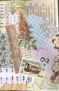 mail art April 2021 flower Bermuda