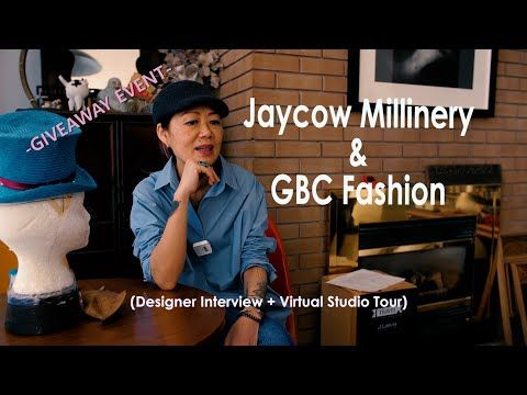 Jaycow Millinery: Designer Interview + Virtual Studio Tour