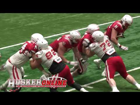 HOL HD: Husker Spring Football Sights & Sounds part 1