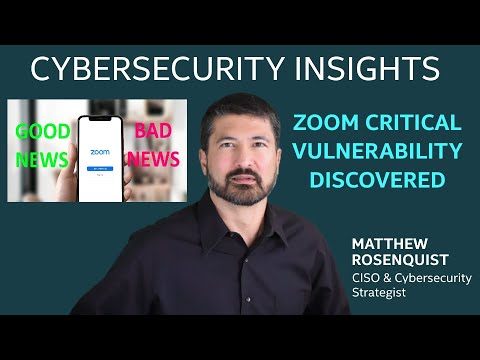 Zoom Critical Vulnerability Discovered
