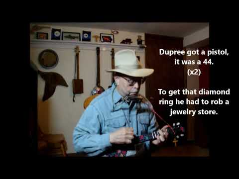 Betty & Dupree ~ old blues story on cigar box mandolin