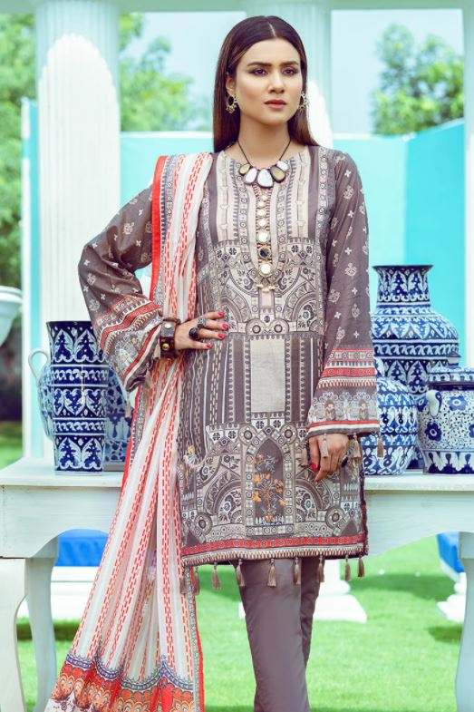 Summer Lawn Suits Collection 2021 - Unstitched Suits - BuyZilla.pk