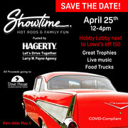 Showtime Hot Rods + Family Fun -Mooresville, NC