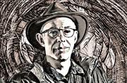 Paul in Woodcut Portrait