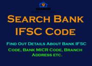 Search Bank IFSC