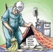 sweeping issues under the carpet with pfizer vaccine