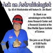 Ask an Astrobiologist with Dr. Jen Blank
