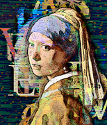 The Girl with the Pearl Earring Moderne