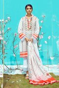 Buy 3 PC Lawn Dress - Unstitched Lawn Collection - BuyZilla.pk