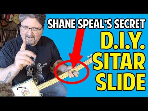 Shane Speal's D.I.Y. Sitar Slide Secret - for Guitar & Cigar Box Guitar
