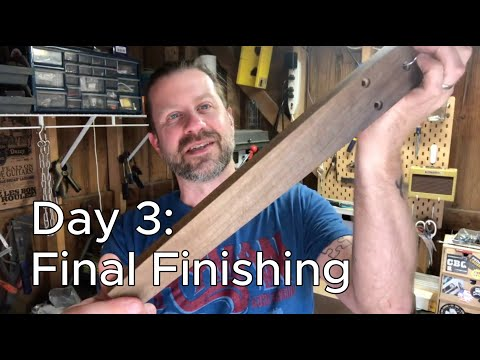 Banjo Build Diary: Day 3 [Final Finishing]