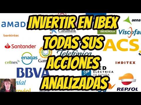 INVERTIR EN IBEX TODAS SUS ACCIONES ANALIZADAS