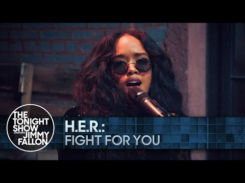 H.E.R.: Fight for You | The Tonight Show Starring Jimmy Fallon