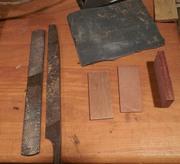 Hand-making mahogany pickup