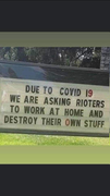 Looters work at home