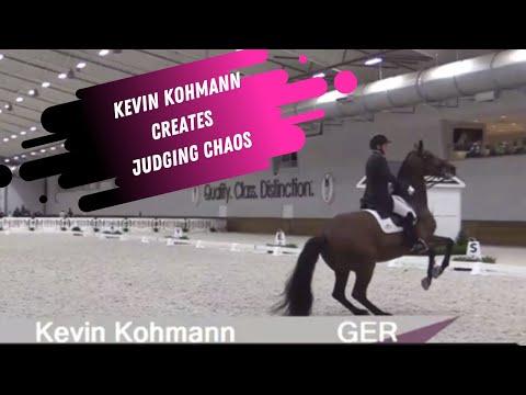WEC CDI: Kohmann Creates Chaos - 5* Venue Draws 1* Riders (Dressage Show Report Description)