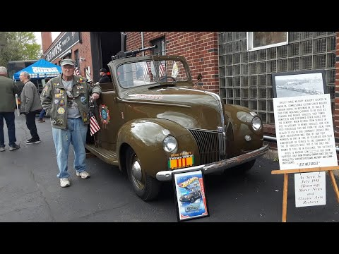 1940 Ford Weapons Carrier 1 of 3 Built For Valley Forge Military Academy