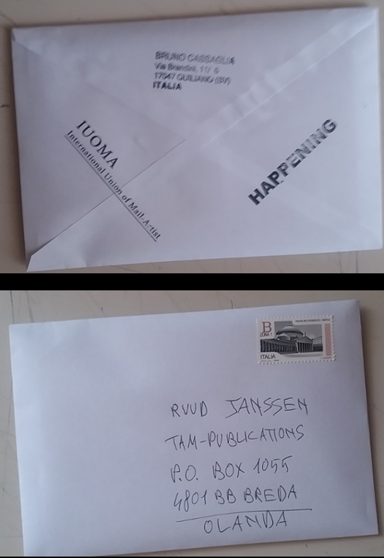 book-object leaving for Ruud Janssen.