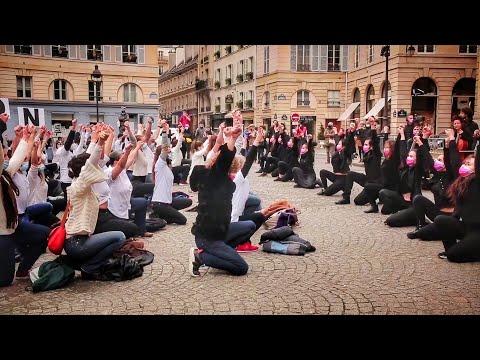 # ShowMustGoOn - Flashmob pour la culture à l'Odéon (à voir jusqu'à la fin !!)