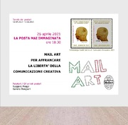 "April 26 - ""Mail art to free the freedom of creative communication"""