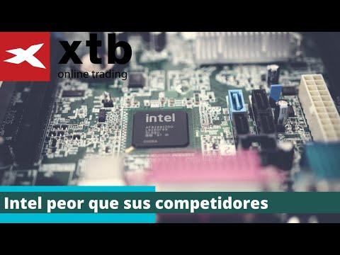 Intel peor que sus competidores