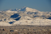 Mt. Meeker covered with fresh snow
