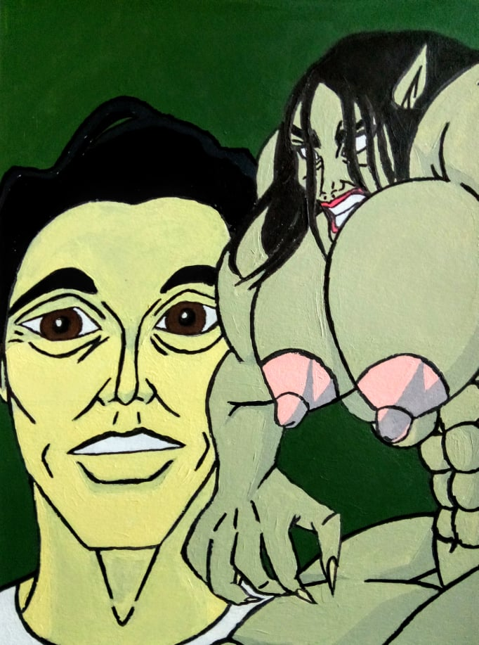 Lauren Cohan as Bio Rampage She Hulk Monster and Feature Steven Yeun