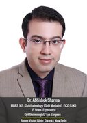 Dr Abhishek Sharma - Best Eye Specialist in Dwarka New Delhi