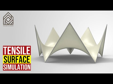 Tensile Surface Simulation