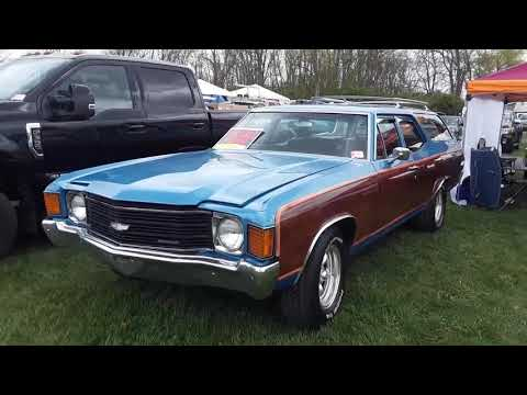 1962 Olds F 85 Station Wagon & 1972 Chevelle Station Wagon At 2021 Spring Carlisle