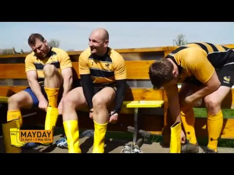 Wasps RFC and James Haskell swap rugby boots for yellow wellies for #MaydayEveryday