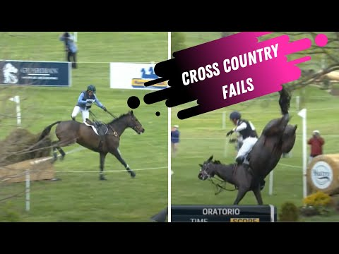 Epic Equestrian Fails From Land Rover Ketucky 3 Day Event #LRK3DE