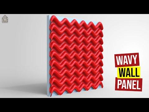 Wavy Wall Panel