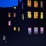Kornfeld_Corona Nights No 1_30x30 cm_Papercut