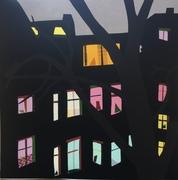 Kornfeld_Corona Nights No 3, 30 x 30 cm,Papercut