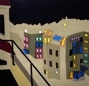 Kornfeld_Corona Nights No 2.1, 30 x 30 cm Papercut