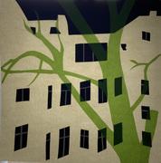 Kornfeld_Corona Nights No 3.2_30 x 30 cm_ Papercut