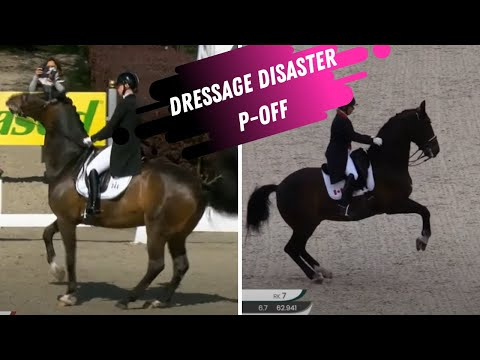 Dressage Disaster: P-OFF