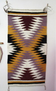 04 25 21 Rug or wall hanging 19 by 37 and 3  4 fourths  from Ma