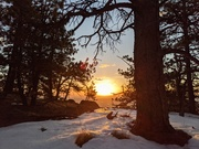 Sunrise from Mount Sanitas