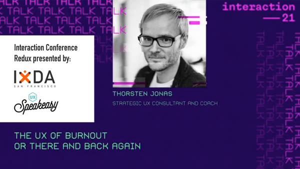 The UX of Burnout