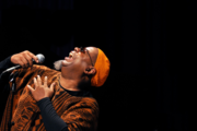 Dwight Trible at The World Stage Performance Gallery