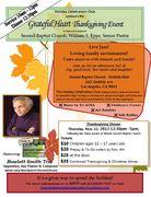 Grateful Heart Thanksgiving Dinner Event