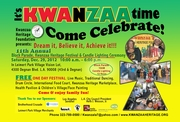 Kwanzaa Heritage Festival, Block Parade & Candle Lighting Ceremony