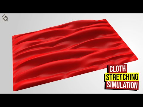 Cloth Stretching Simulation