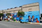 """Beacon of Hope"" mural to celebrate 125 year anniversary of the Wesley United Methodist Church"