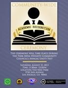 Academic Recognition Ceremony