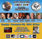 Leimert Park Art Walk Comedy Show