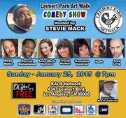 Leimert Park Art Walk Comedy Show - Jan 25th 2015